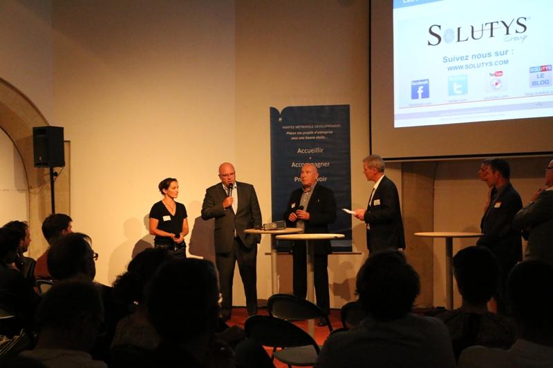 Nantes Développement le partenaire de l'implantation de SOLUTYS en région Ouest