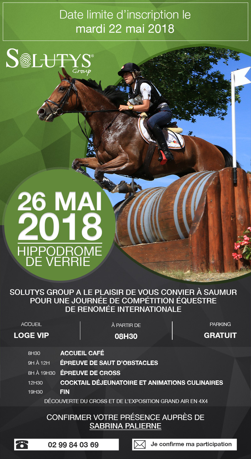 Invitation SOLUTYS Group-Saumur Complet-2018