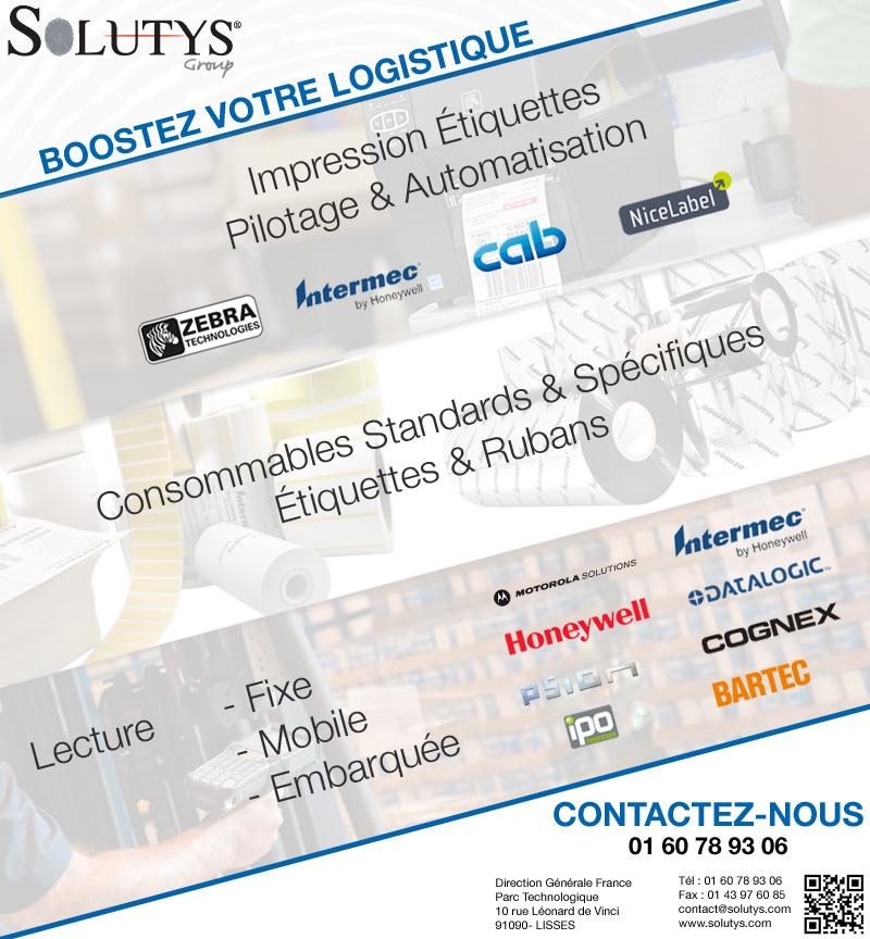 Boostez votre logistique avec les solutions de traçabilité proposées par SolutysBoostez votre logistique avec les solutions de traçabilité proposées par Solutys