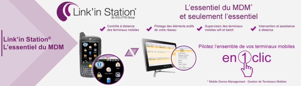 Pilotez l'ensemble de vos terminaux mobiles avec la solution Link'in Station