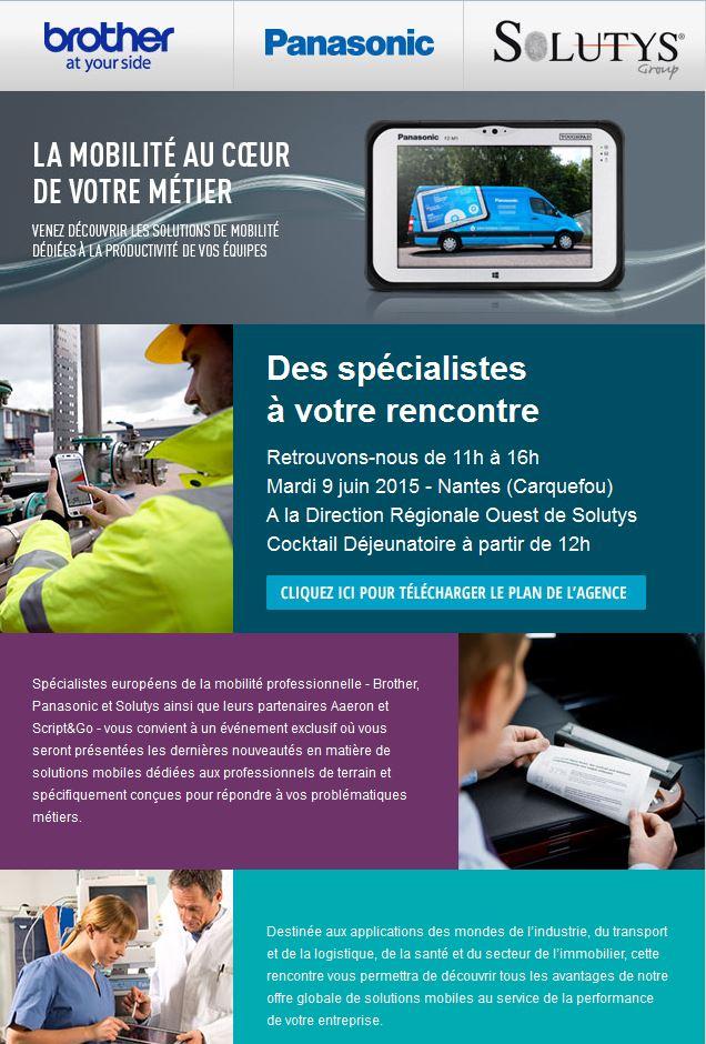 Rencontre Brother – Panasonic – Solutys