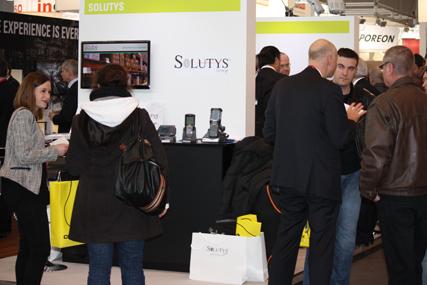 SOLUTYS sur le salon SITL 2013